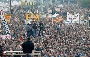 4. November 1989, Demo am Alex, Berlin