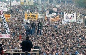 4. November 1989, Demo am Alex, Berlin