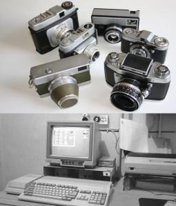 Kameras und Computer