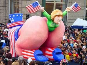 Das Arschkriecher Merkel