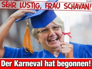 Anette Schavan - Doktor ade