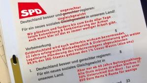 Das Lügenpaket getarnt als SPD Wahl Versprechen