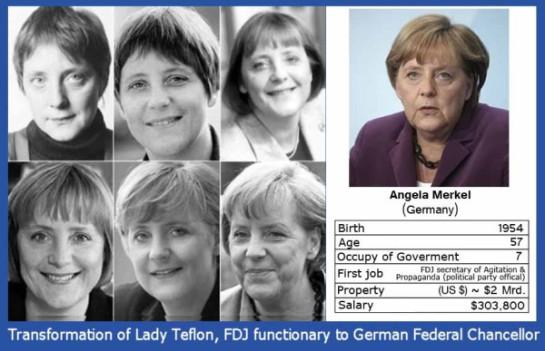 Merkel - die Karriere der Teflon Kanzlerin