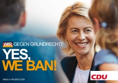 Yes, we ban - CDU