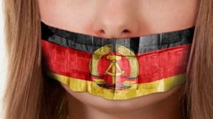 DDR besetzt und mundtot