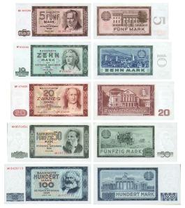 DDR Geld von 1964