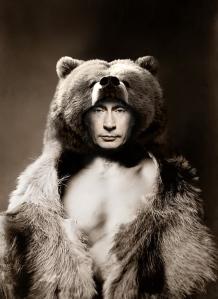 Putin der russische Bär