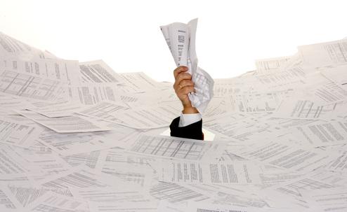 Symbol Bürokratie