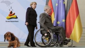 Der bundesdeutscher Hausdackel und seine Herr[s]chen