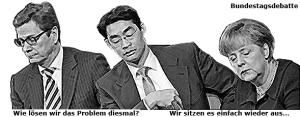 Bundestagsdebatte - die Namen wechseln, die Probleme bleiben