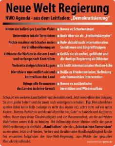 NWO-Leitfaden-Demokratisierung-Neusprech-humanitaere-Intervention-Krieg-ist-Frieden