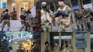 Russen in der Ostukraine