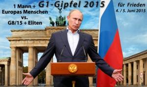 Putin läd zum G1-Gipfel