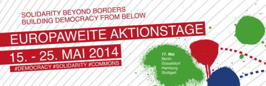 Europaweite Aktionstage! Blockupy 2014