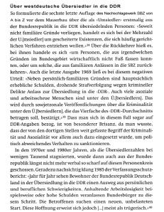 BRD über Übersiedler in die DDR