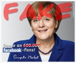 Merkels Facebook-Fake