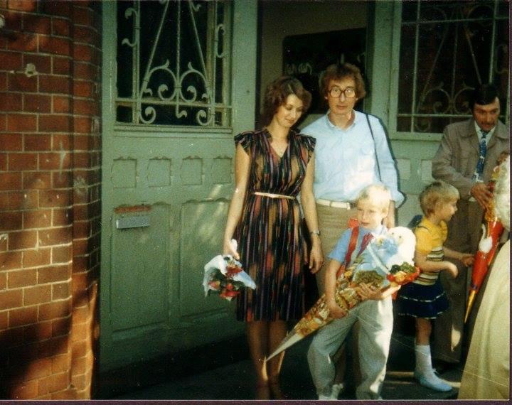 Einschulung auf dem Dorf, ca.1982