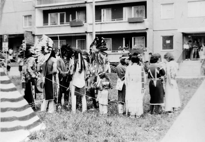 Indianertreffen in der DDR ca. 1980