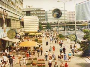 DDR Berlin-Mitte etwa 1983