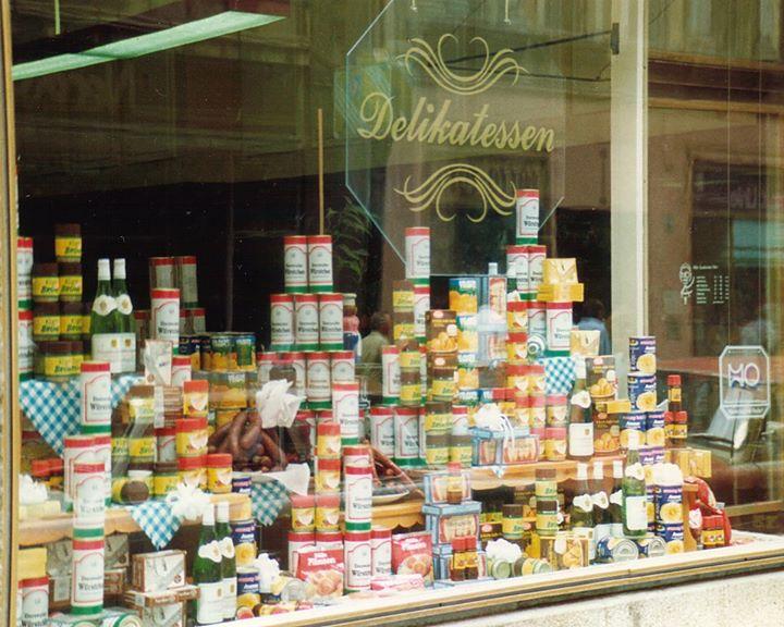 Die berühmten Delikat-Läden