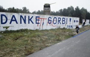Mauer von 1990 - heute abgerissen