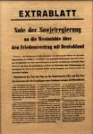 Friedensvertragsangebot  von Stalin 1952 an Deutschland