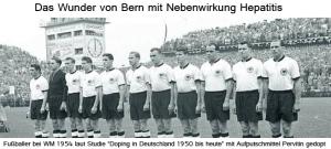Das Doping-Wunder von Bern 1954