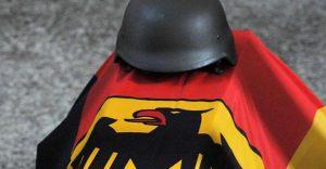 Bundeswehr Heimreise im Zinnsarg