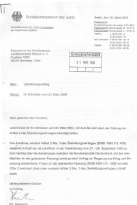 Ueberleitungsvertrag der Pariser Verträge noch nach 1990 in Kraft