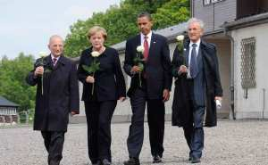 Obama 2009 in Buchenwald