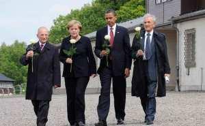 Obama 2009 in Buchenwald