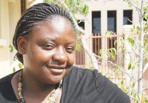 Monica Nambelela in Windhoek
