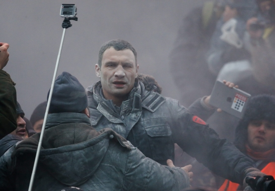 Vitali Klitschko, Ukraine