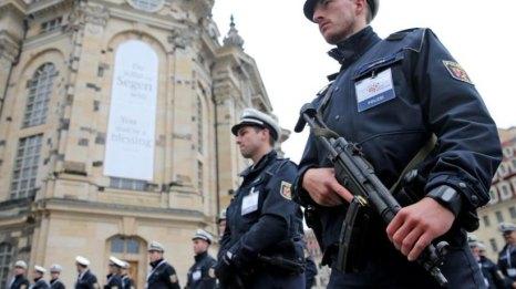 Einheitsfeier Dresden 2016 - Polizei2016