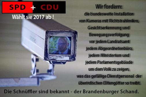 Brandenburg Wahl 2017